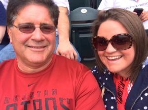 Dad&I Braves Game